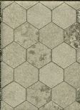 Illusions Foil Honeycomb Champagne Wallpaper 294701 By Arthouse For Options
